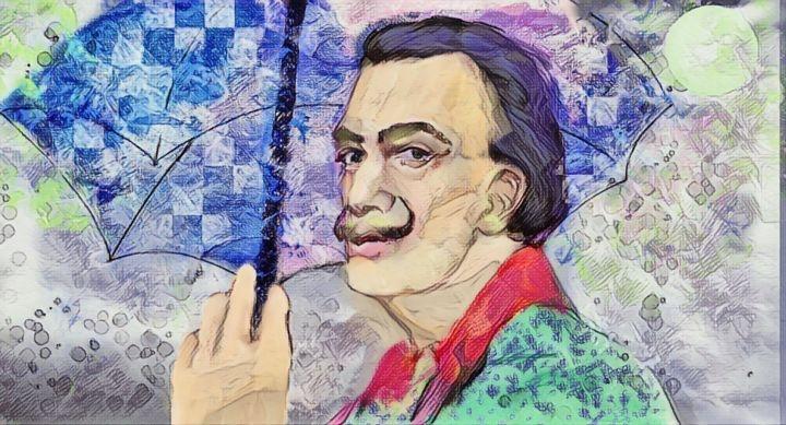 Salvador Dali por ferrokaro